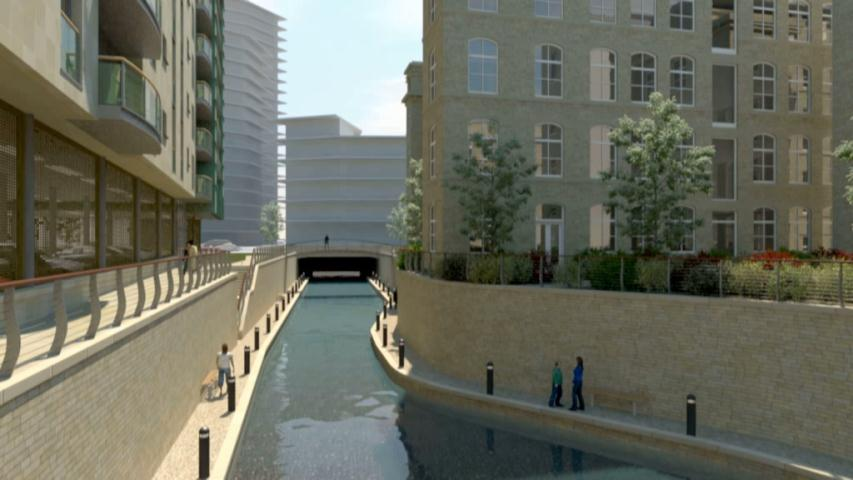 midland mills bradford 3d visualisation animation